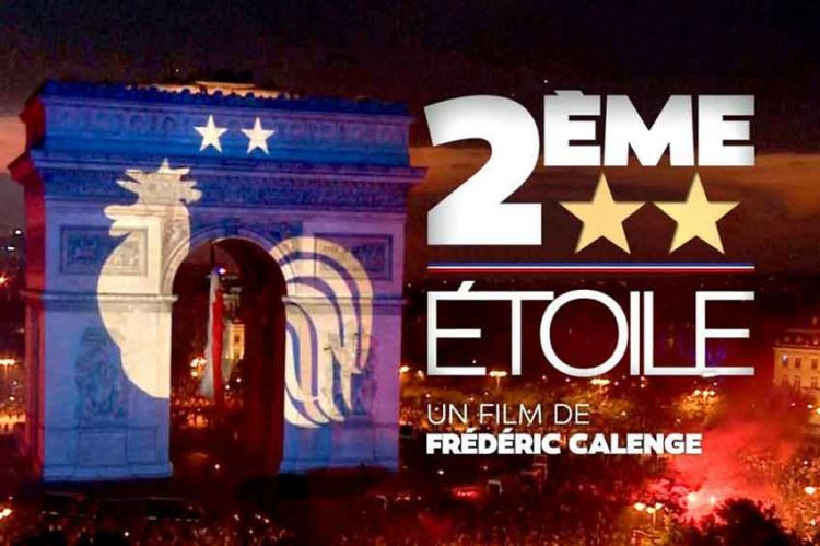 """""""Deuxième Étoile"""" : dans les coulisses la Coupe du Monde 2018  le 2 janvier sur TF1"""