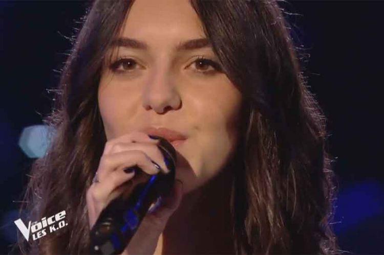 """Replay """"The Voice"""" : Laure chante « Comme toi » de Jean Jacques Goldman (vidéo)"""