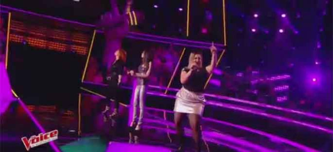 "Replay ""The Voice"" : Karia / Lisa Mistretta / Lily Berry « Bang Bang » (vidéo)"