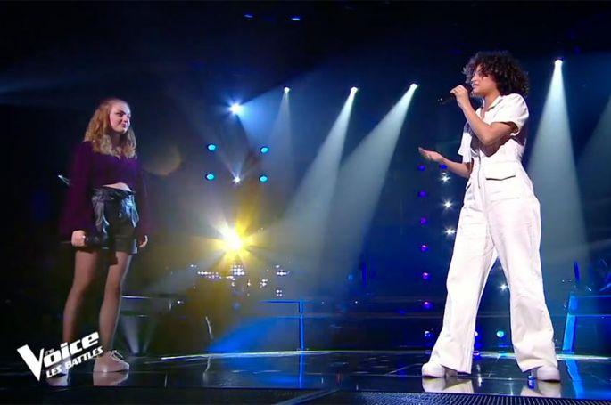 """Replay """"The Voice"""" : Camélione & Kay chantent « Your song » de Elton John (vidéo)"""