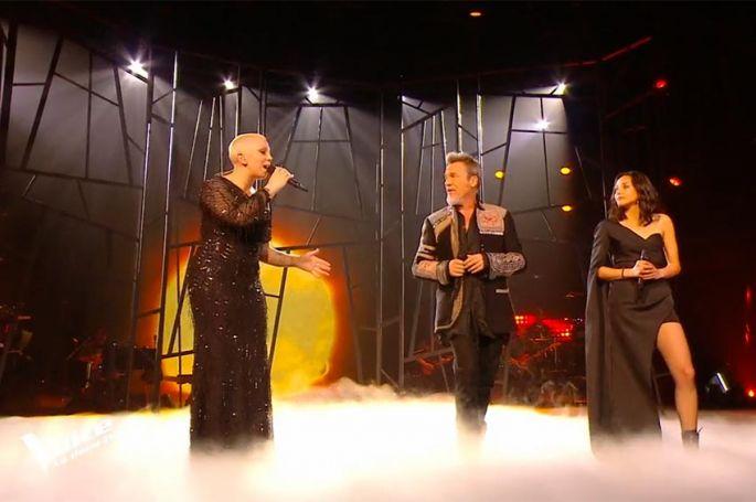"Replay ""The Voice"" : Marghe, Giada & Florent Pagny chantent « Vivo per lei » (vidéo)"