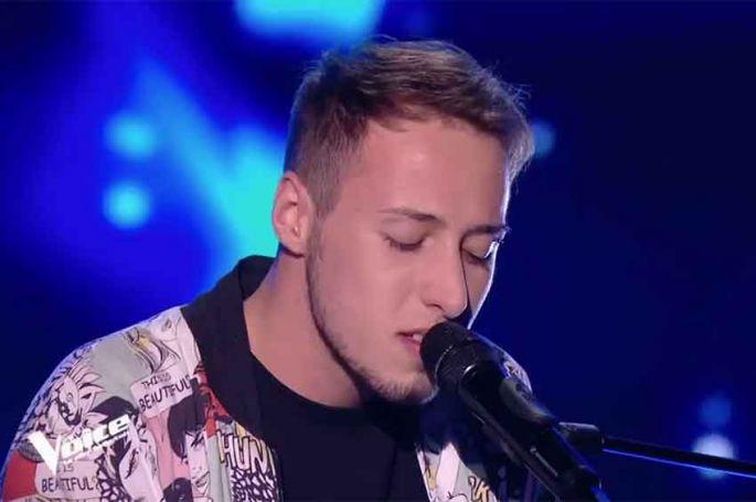 """Replay """"The Voice"""" : Thomas chante « Iron Sky » de Paolo Nuttini (vidéo)"""