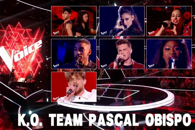 "Replay ""The Voice"" samedi 25 avril : voici les 7 K.O. de l'équipe Pascal Obispo (vidéo)"