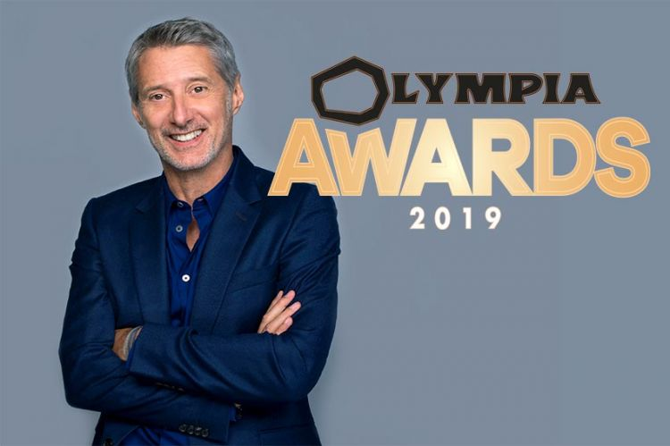 """1ère édition des """"Olympia Awards"""" le 11 décembre sur C8 avec Antoine de Caunes"""