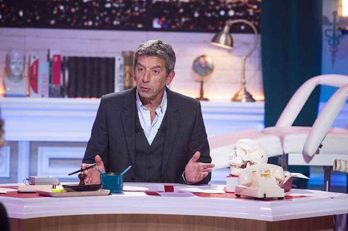 """""""Ça ne sortira pas d'ici"""" : Michel Cymes reçoit André Dussollier, Shy'm & Alex Vizorek sur France 2"""