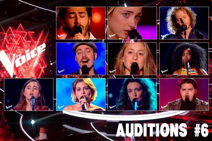 """Replay """"The Voice"""" samedi 13 mars : voici les 10 talents sélectionnés (vidéo)"""