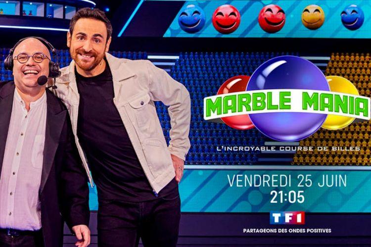 """""""Marble Mania"""" : découvrez les 1ères images de ce nouveau divertissement qui arrive sur TF1 le 25 juin (vidéo)"""