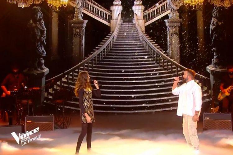 "Replay ""The Voice Kids"" : Naomi & Kendji Girac chantent « Histoire éternelle » BO La belle & la bête (vidéo)"