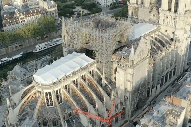 « Sauver Notre-Dame », documentaire raconté par Philippe Torreton, mardi 14 avril sur France 5