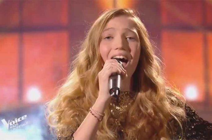"""Revoir """"The Voice Kids"""" : Lili chante « Rise like a phoenix » de Conchita Wurst en finale (replay vidéo)"""
