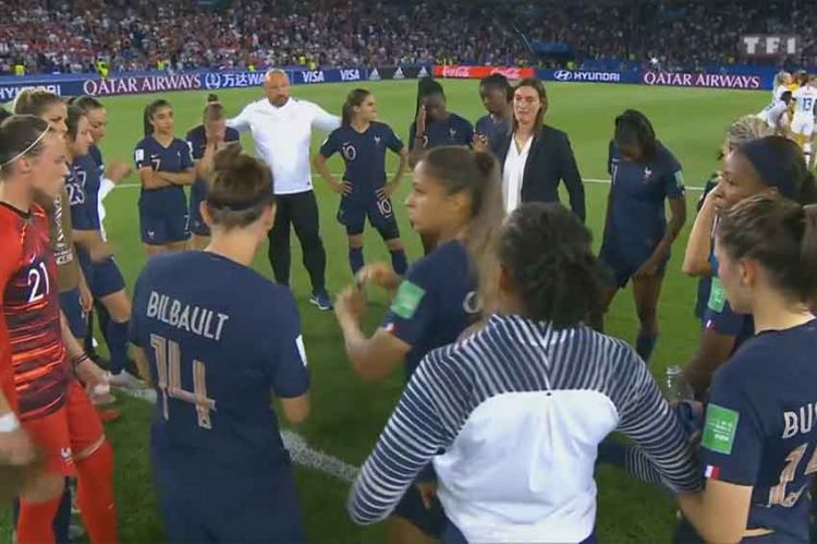Coupe du Monde Féminine : le quart de finale France / USA suivi par 10,7 millions de téléspectateurs sur TF1