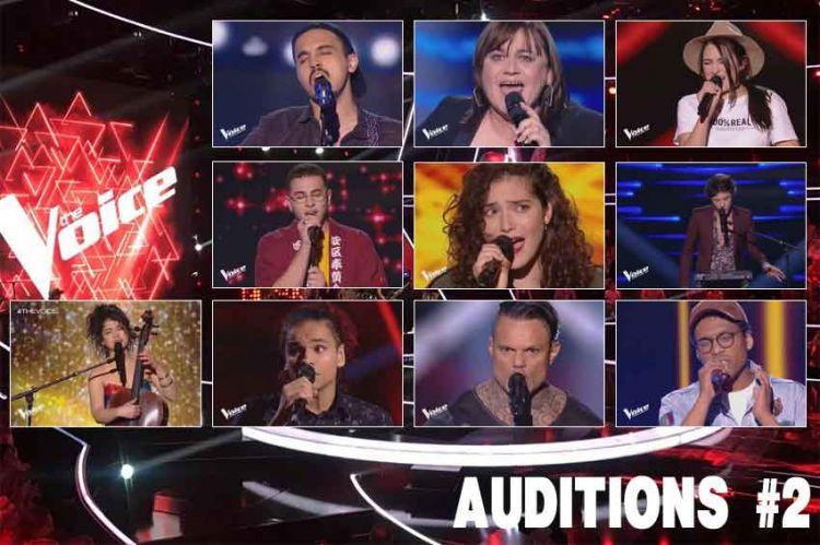 """Replay """"The Voice"""" samedi 16 février : voici les 10 talents sélectionnés (vidéo)"""