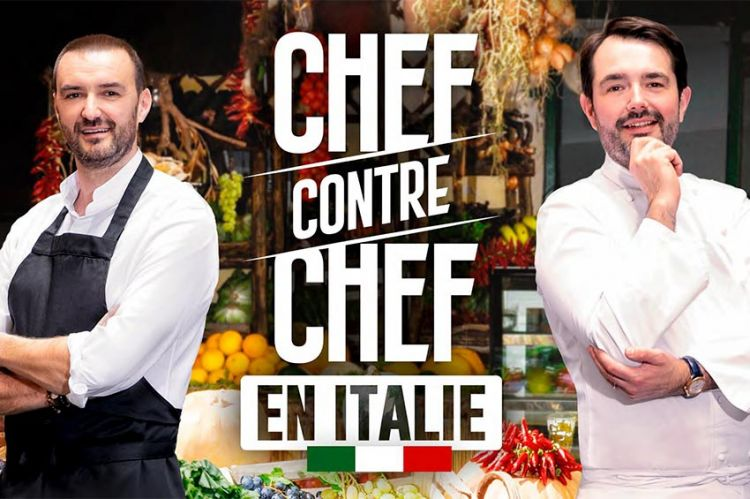 """""""Chef contre Chef"""" : duel entre Cyril Lignac et Jean-François Piège en Italie jeudi 12 décembre sur M6"""