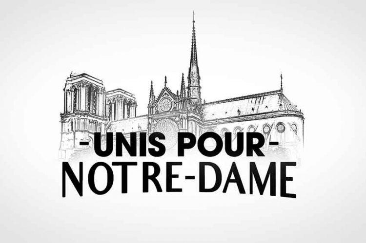 Journée spéciale « Unis pour Notre-Dame » sur TF1 jeudi 18 avril et tout au long du week-end
