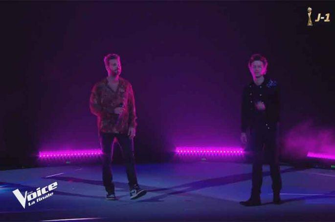 """Replay """"The Voice"""" : Sidoine & M Pokora chantent « Le monde » en finale (vidéo)"""