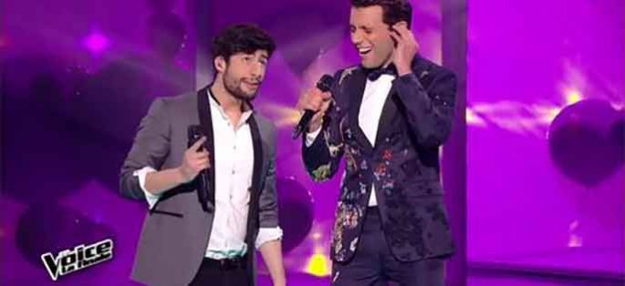 "Replay ""The Voice"" : MB14 & Mika chantent « Happy Ending » en finale (vidéo)"