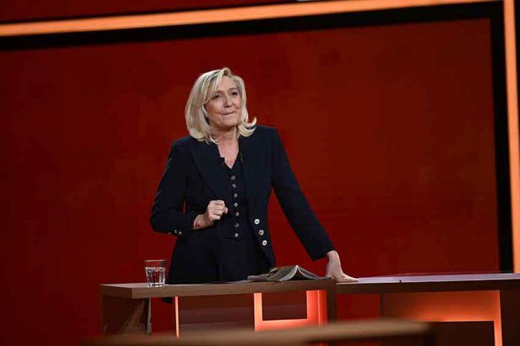 Marine Le Pen invitée du JT de 20 Heures de France 2 ce lundi 27 septembre