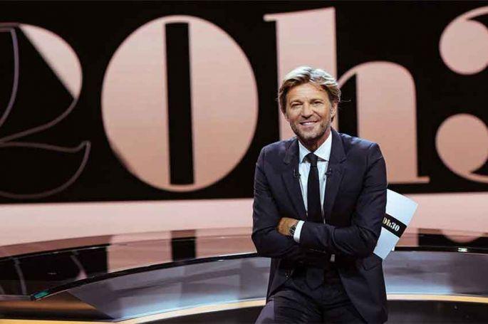 """""""20h30, le dimanche"""" : Laurent Delahousse reçoit Olivier De Kersauson, Hugo Clément & Angèle ce 17 novembre sur France 2"""