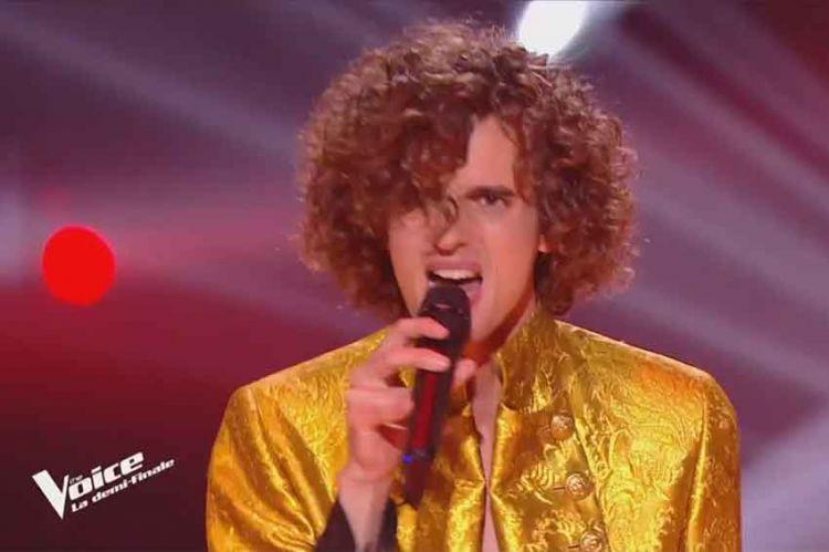 """Replay """"The Voice"""" : Léonard chante « I'm Still Standing » de Elton John (vidéo)"""