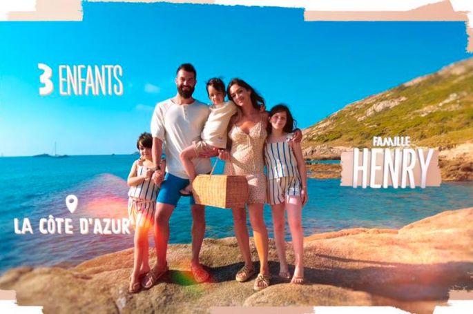 """""""Familles nombreuses : la vie au soleil"""" : découvrez la famille Henry dès le 16 août sur TF1"""