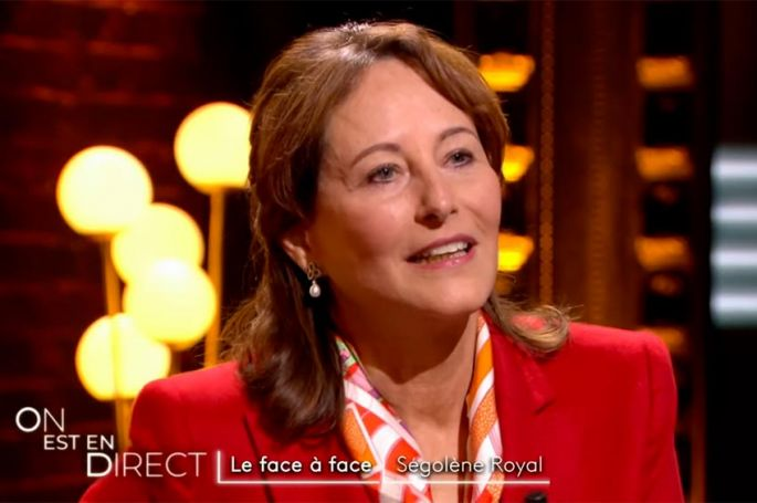 """""""On est en direct"""" : la face à face avec Ségolène Royal (vidéo)"""