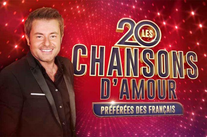 """""""Les 20 chansons d'amour préférées des Français"""" dévoilées par Jérôme Anthony mercredi 29 septembre sur W9"""