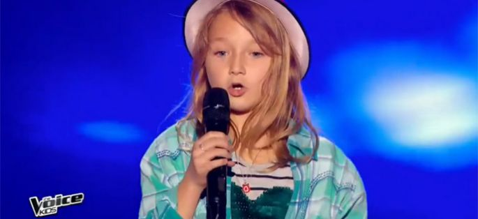 "Replay ""The Voice Kids"" : Satine chante « Il m'a montré à Yodler » de Manon Bedard (vidéo)"