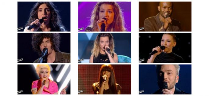 "Replay ""The Voice"" samedi 4 avril : revoir les 16 prestations du 1er prime en direct (vidéo)"