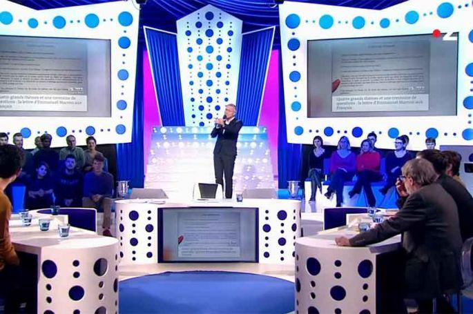 """Revoir ONPC : retour sur l'actualité de la semaine dans """"On n'est pas couché"""" du 19 janvier par Laurent Ruquier (vidéo)"""