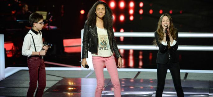 "Replay ""The Voice Kids"" : battle Shaina, Joseph et Laura sur « You Can't Hurry Love » (vidéo)"