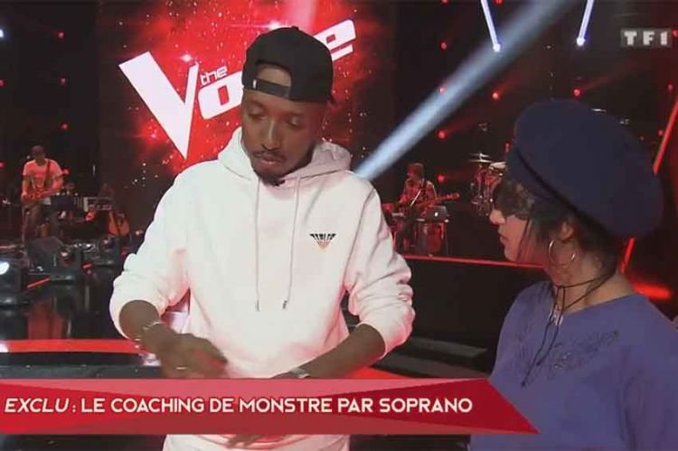 """The Voice"" : Monstre de retour samedi soir pour son KO, regardez le coaching avec Soprano (vidéo)"