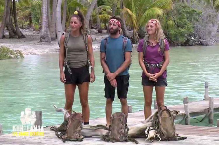 """""""Koh-Lanta"""" : Maxine, Lucie et Jonathan en finale sur les poteaux, vendredi 4 juin sur TF1 (vidéo)"""