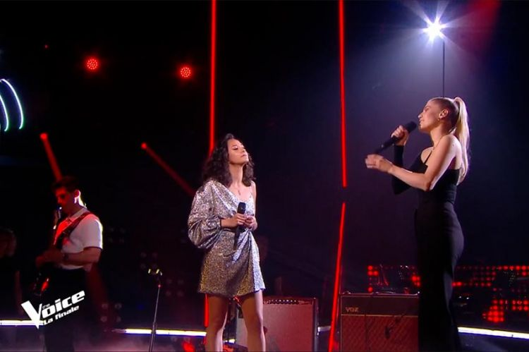 """Replay """"The Voice"""" : Marghe & London Grammar chantent « Wasting my young years » (vidéo)"""