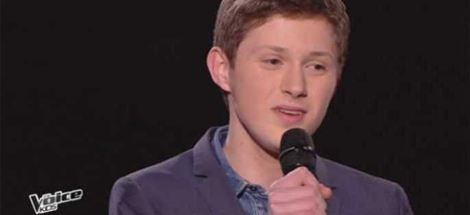 "Replay ""The Voice Kids"" : Antoine chante « Just the way you are » de Bruno Mars (vidéo)"
