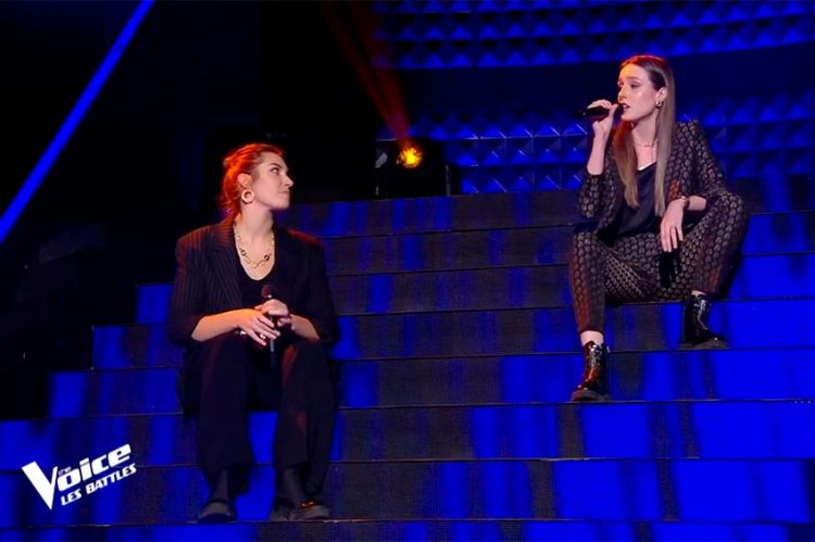 """Replay """"The Voice"""" : Louise Mambell & Margaux chantent « What's up » de 4 Non Blondes (vidéo)"""