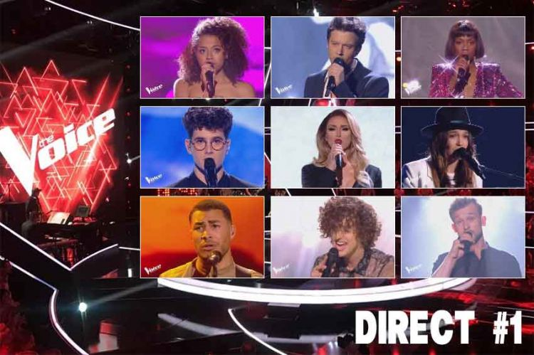 "Replay ""The Voice"" samedi 18 mai : voici les 16 prestations du 1er Grand Show en direct (vidéo)"