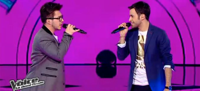 "Vidéo Replay ""The Voice"" : Anthony Touma & Olympe « Relax, take it easy » de Mika"