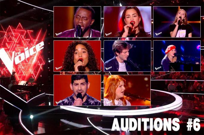 """Replay """"The Voice"""" samedi 22 février : voici les 8 talents sélectionnés par les coachs (vidéo)"""