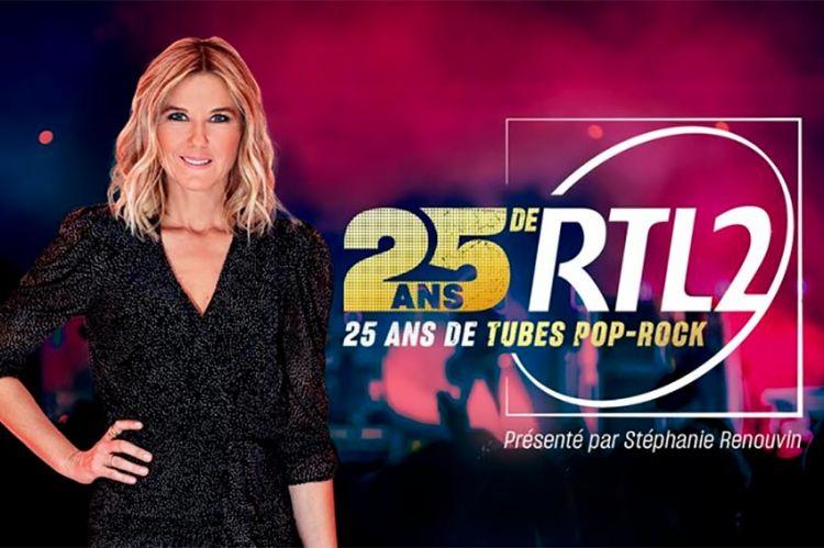 """W9 célèbre """"25 ans de RTL2, 25 ans de tubes pop-rock"""" le 19 décembre : les artistes présents"""