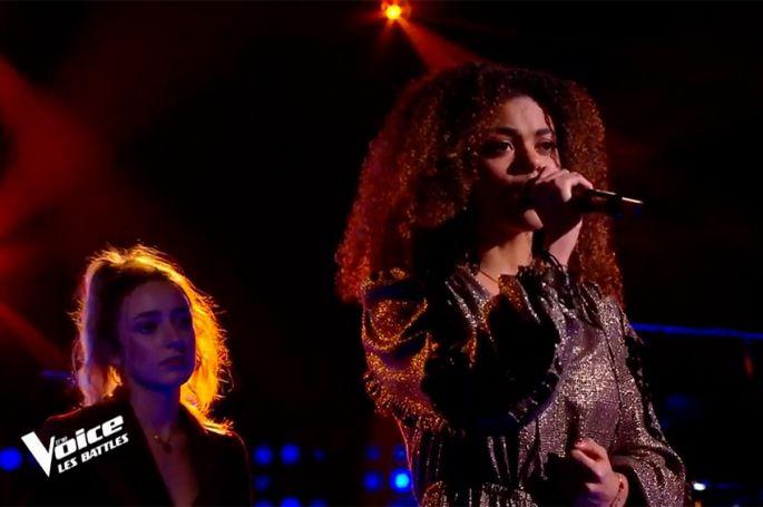 """Replay """"The Voice"""" : Alyah & Charlotte Elizabeth chantent « Evidemment » de France Gall (vidéo)"""
