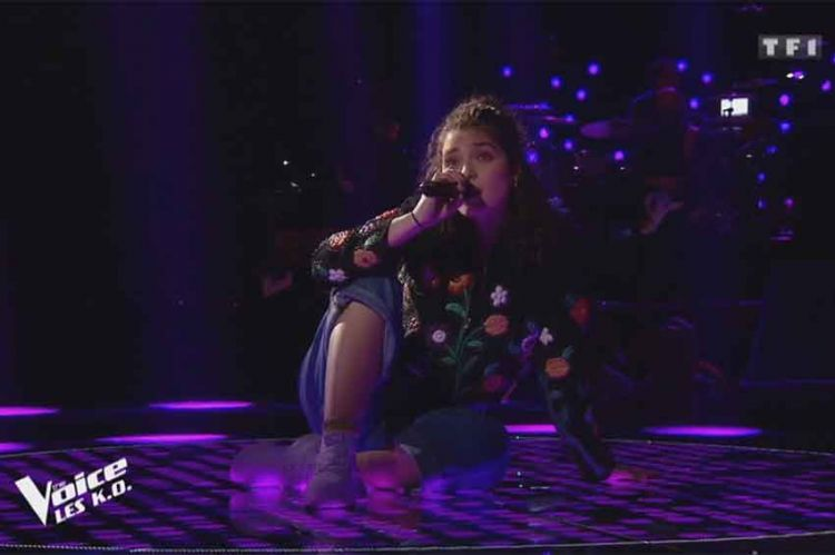 """The Voice"" : Ava Baya va reprendre samedi soir « La thune » de Angèle (vidéo)"