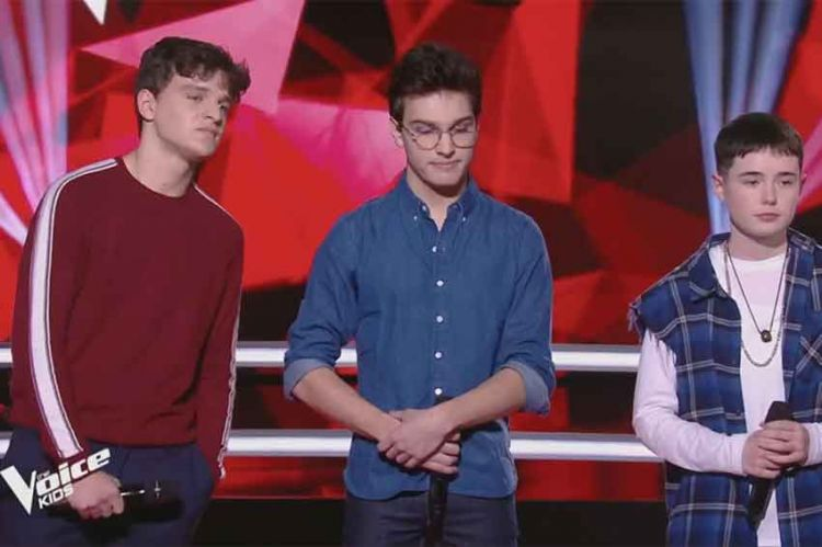 "Replay ""The Voice Kids"" : Lilou, Leny & Pierre « Ta fête » de Stromae (vidéo)"