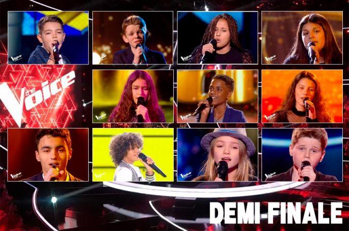 "Replay ""The Voice Kids"" samedi 3 octobre : les 16 prestations de la demi-finale  (vidéo)"