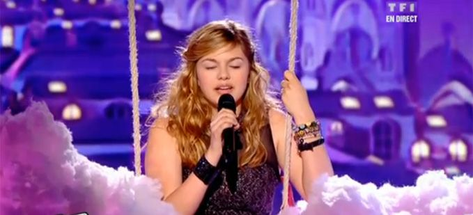 "Vidéo Replay ""The Voice"" : regardez Louane qui interprète « Imagine » de John Lennon"
