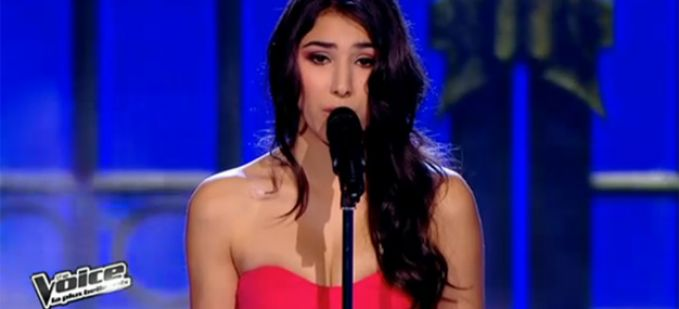 "Vidéo Replay ""The Voice"" : Sarah interprète « Run to you » de Withney Houston"