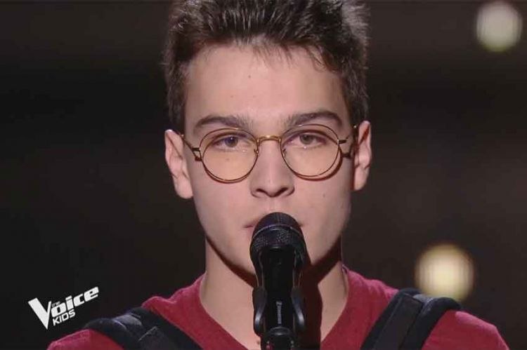 """Replay """"The Voice Kids"""" : Pierre chante « Ces gens-là » de Jacques Brel (vidéo)"""