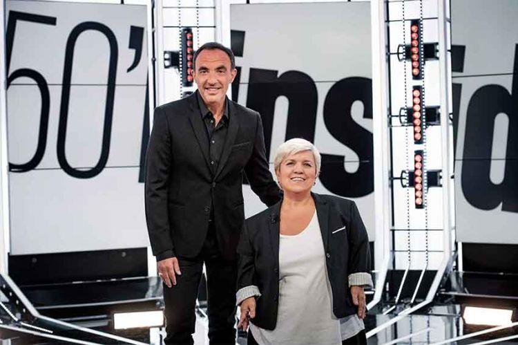 """50mn Inside"" : Nikos Aliagas reçoit Mimie Mathy samedi 29 février sur TF1"