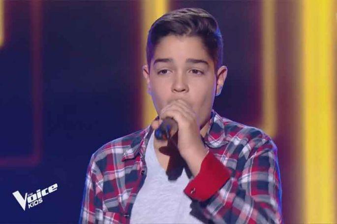 "Replay ""The Voice Kids"" : Enzo chante « Attention » de Charlie Puth (vidéo)"