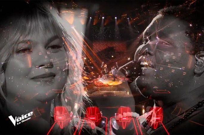 """Replay """"The Voice"""" : Cyprien & Louane chantent « Si t'étais là » (vidéo)"""