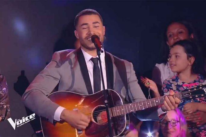 "Replay ""The Voice"" : Pierre Danaë chante « Hey Jude » de The Beatles (vidéo)"